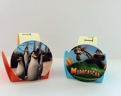 Forminhas - tema  Madagascar