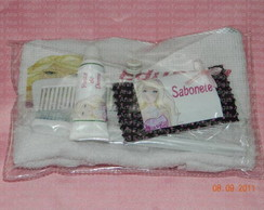Kit Higiene Barbie Moda e magia