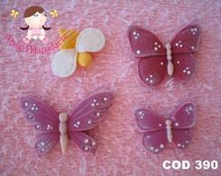 C�d 390 Molde de borboletas