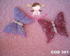 C�d 391 Molde de borboleta