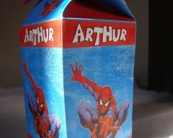 Caixa de guloseimas do Homem Aranha