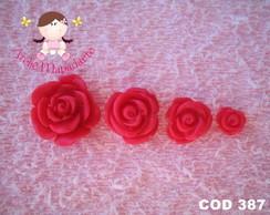 C�d 387 Molde de rosas pequenas