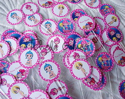 Topper para Docinho - Princesas do Mar