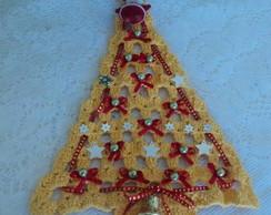 �rvore de Natal de croch�