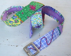 Cinto patchwork lil�s