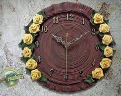 REL�GIO DE PAREDE - Yellow Roses