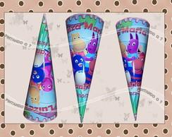Cones Personalizados - Backyardigans
