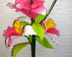 vasocom flores artificiais de EVA