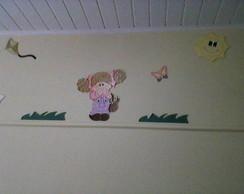Apliques para decora��o infantil em mdf