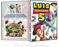 Capa para dvd Toy Story