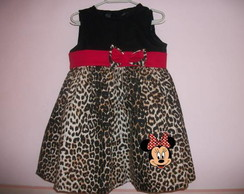 SUGEST�O VESTIDO MINNIE SAFARI