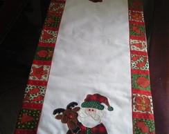 Caminho de mesa Papai Noel