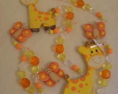M�bile de cortina girafinhas