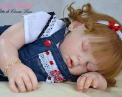 Boneca Reborn Alice idade de 1 aninho