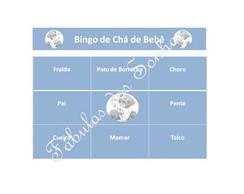 Bingo de Ch� de Beb�