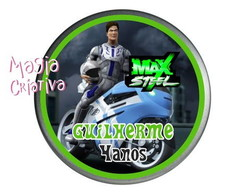 Latinha Mint to be Max Steel