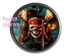 Latinha Mint to be Piratas do Caribe