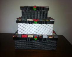 Kit de caixas organizadoras