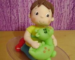 topo de bolo de menino