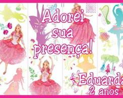 Barbie bailarina �m� de geladeira,tag