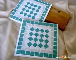 """Mosaico Descanso de Panela """"Verde II"""""""