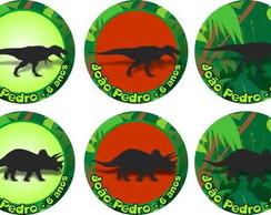 Dinossauros �m� de geladeira tag