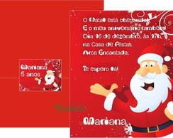 Convite de Anivers�rio Natal