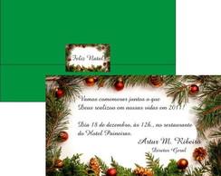 Convite Almo�o de Natal
