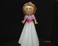 Lorena - Princesa Enfeite de Mesa