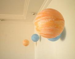 Planeta bola para decora��o de festa