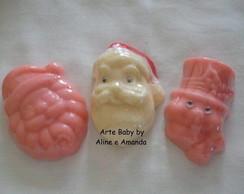 Sabonetes de Natal Faces