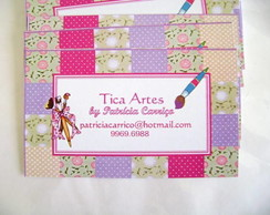 Cart�o empresa: Patchwork