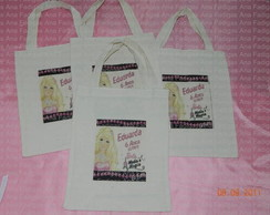 Mini eco Bag Barbie Moda e Magia