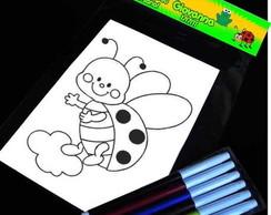 Jardim Encantado kit para colorir