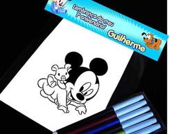 Baby disney meninos kit para colorir