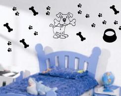 Adesivo Decorativo - Cachorro 1
