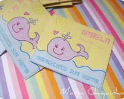 30 Cards Lembran�a - Baleinha