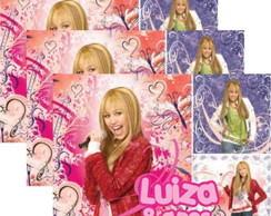 Hannah Montana �m� tag adesivo r�tulo