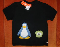 Camiseta Club Penguin - modelo 16