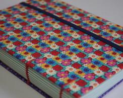 Caderno Primavera floral
