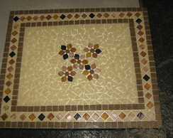 tampo de mesa mosaico 70x70 C�D TP 38