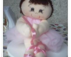 Boneca bailarina rosa