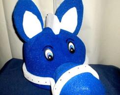 chap�u de espuma cavalo azul