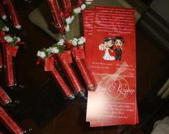 Convite de Casamento no Tubo