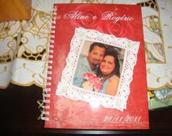Caderno Mensagem Casamento