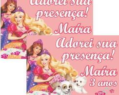 Barbie tag �m� geladeira adesivo r�tulo