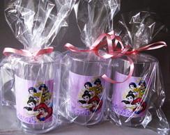 Adesivo R�tulo Princesas Disney caneca