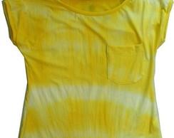Blusa tie dye visco licra desconto 50%