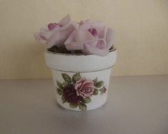 Vaso de flores Shabby