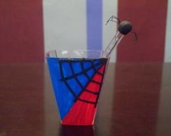 Copo para brigadeiro mole Homem Aranha